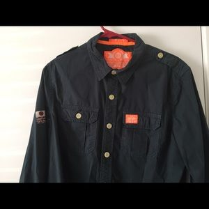 SuperDry button up Shirt Large